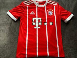 Adidas Bayern Munich Red Neuer #1 Jersey Youth, Size L