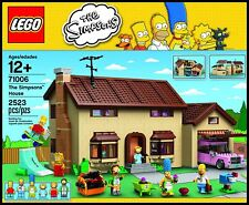 LEGO  - 71006 THE SIMPSONS HOUSE  - NEW - SEALED - MISB