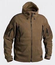 Helikon Tex Patriot Heavy Fleece Outdoor Hooded Jacket Coyote Tan/Medium