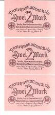 24722P) GERMANIA GERMANY 2 MARCHI DEL 1922 FDS UNC BERLINO 15 SETTEMBRE