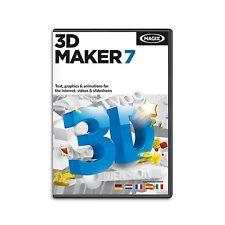 MAGIX 3D Maker 7 - NEU & OVP