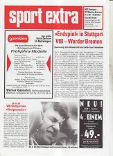 BL 92/93 VfB Stuttgart - SV Werder Bremen (Sports extra)