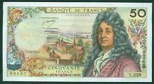 FRANCE 50 FRANCS RACINE  du  4 / 10 / 1973  ETAT:  SUP   W930