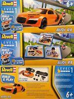 Revell Junior Kit Level 1 Motor Vehicle Starter Kit  4+ 6+ New Plastic Model Kit