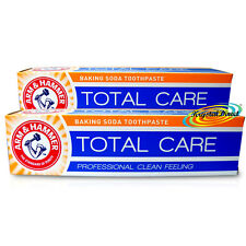 2x Arm & Hammer TOTAL CARE 125g Cavity Protection