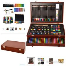 142 Pc Art Drawing Set Kit For All Ages School Supplies Paint Pencil Art