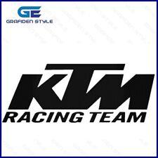1 Paar - KTM RACING TEAM  - Auto Seiten Aufkleber - KTM Sticker - B 100cm !