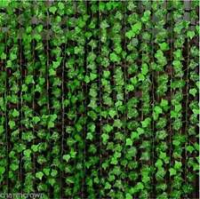 Artificial Hanging Plant Fake Vine Ivy Leaf Greenery Garland Wedding Decor Craft