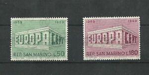 San Marino 1969 Europa MNH