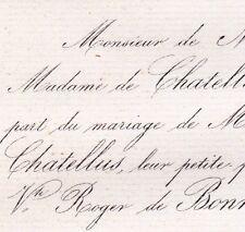 Valentine Guillet De Chatellus 1861 Roger De Bonneuil