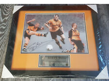 Steve Bull Bully Wolverhampton Wanderers Wolves Legend signed framed photo AFTAL