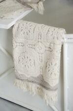 Handtuch Frotteé 50 X 100 Towel Bad Shabby Landhaus Vintage