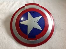 Marvel Captain America Disc Launching Shield Cosplay Hasbro 2010 Works
