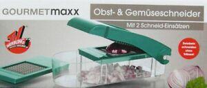 Gourmetmaxx Obstschneider Gemüseschneider Spühlmaschinengeeignet NEU