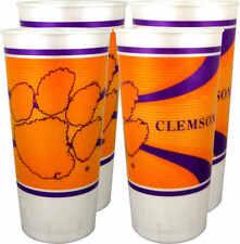 Clemson Tigers 24 oz. Souvenir Cups (4 per set)
