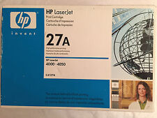 HP 27A Toner Cartridge (C4127A) White Box