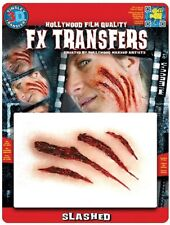 Tinsley Transfers Slashed Cut Prosthetic Special Effects Makeup Horror 3D FX