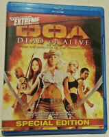 DOA: Dead or Alive (Blu-ray Disc, 2010, Canadian)