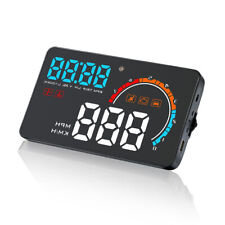 Car GPS D2500 HUD Head Up Digital Display Auto Speed Warning Projector Alarm