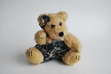 Boyds Bear, Classic Little Teddy Bear in Overalls