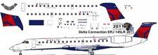 Delta Connection Embraer ERJ 145 decals for Welsh 1/144 kits
