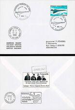 "FE18a FDC European Parliament ""First Flight CONCORDE 001 / TURCAT & RETIF"" 1969"