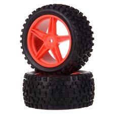 2x 1/10 HSP Off-road Buggy 06024 Rear Wheel Rim Tyre,Tires Insert Sponge 66024