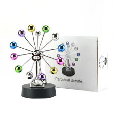Color Magnetic Balls Perpetual Motion Revolving Ferris Wheel Desk Decor Toy Gift