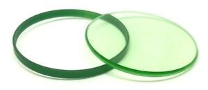 MINERAL GREEN GLASS CRYSTAL + GREEN GASKET ROLEXs MILGAUSS 116400 116400GV
