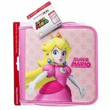 Magnifique Grande Housse Peach Nintendo 2Ds,3Ds Xl,3Ds,New 3Ds Xl, Officiel Neuf