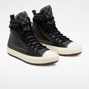 Converse Mens CTAS All Terrain Boot Hi Waterproof 168863C Black/Egret NWB