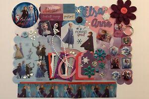 Disney Frozen 2 Custom Chipboard Mini Book Album Kit Scrapbook Disneyland