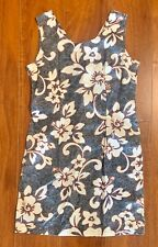 Vintage 90's Jade Fashions Made in Hawaii Floral Dress