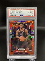 2019-20 PANINI PRIZM DARIUS GARLAND RC RED ICE PRIZM #288 PSA 10 LOW POP CAVS