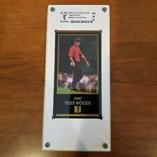 1997-98 Grand Slam Ventures Masters Collection #1997 Tiger Woods RC ASG NM MT 8