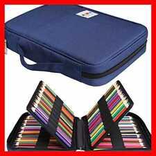 JAKAGO 166 Colored Pencil Case Waterproof Pen Organizer LARGE Capacity Bag Carry