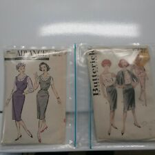 Vintage sewing patterns Lot Of 2