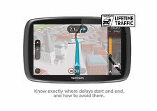 TomTom GO 510 5inch Sat Nav Lifetime World Maps & Traffic Update  UK SELLER