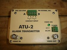 FM SYSTEMS ATU-2 ALARM TRANSMITTER (NEW OLD STOCK)...THIS THE TRANSMITTER ONLY