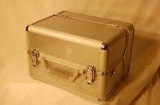 Aluminum Make Up Train Case Cosmetic Salon Artist Jewelry Organizer Box