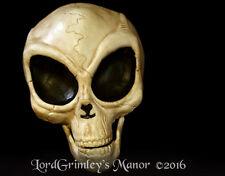 Hanging Alien Skull Halloween Prop Horror UFO Skeleton Area 51 ET Decoration