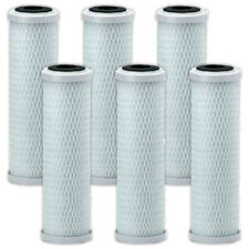 "6 X 10"" CARBON WATER PURIFIER FILTER CARTRIDGES KOI POND RO REVERSE OSMOSIS"