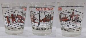 Michigan Water Wonderland Attractions Shot Glass #4567