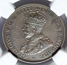 1917-I Australia 1/2 Half Penny Coin - NGC AU 58 BN Graded - KM# 22