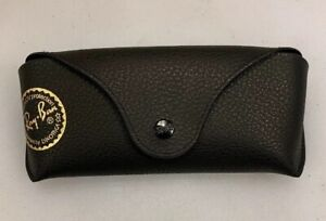 Ray Ban Eyeglasses Sunglasses Case Black Pebbled Glasses Luxotica