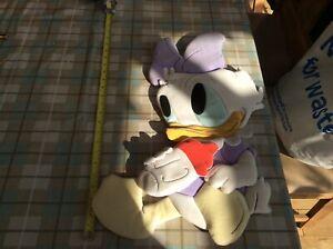 "Rare Large Vintage Disney Wall Hanging 'Baby Daisy Duck' Nursery 22"" Long"