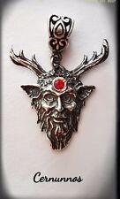 Cernunnos God Celta Dios Colgante  Cernunnos Silver plata ley 925 ml  Wicca
