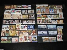 India 2011 Year Pack of 61 Stamps Gandhi Elephant Tiger Tagore Ship Aeroplane MN