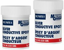 Mg Chemicals 8330 50ml Silvery Grey Silver Conductive Epoxy Adhesive