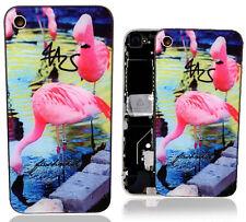 iPhone 4 4G Backcover Rückschale Gehäuse Akkudeckel Glas Schwarz Rückseite NEU